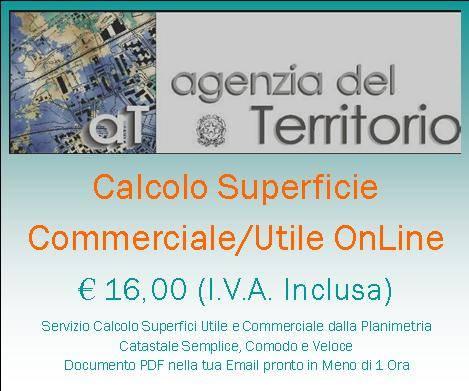 Calcolo Superficie Commerciale Online Superficie Calpestabile
