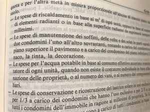 Articolo 1126 CC ripartizione spese condominio