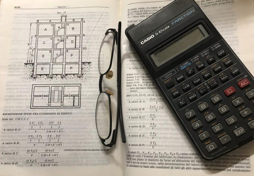 Spese condominiali come fare la ripartizione articoli c c 1123 1126 - Calcolo valore immobile commerciale ...