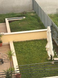 giardino di proprietà esclusiva