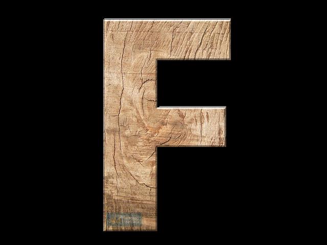 Immagine della lettera F