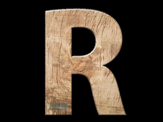 Immagine della Lettera R