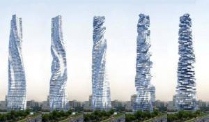 Il grattacielo ruotante ed ecosostenibile a Dubai