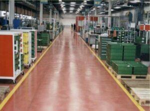 Pavimento industriale ips